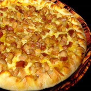 Pizza Bacon com Mussarela