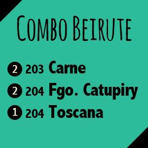 Combo Beirute