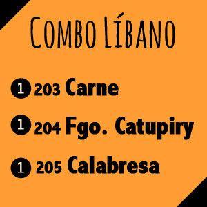 Combo Líbano