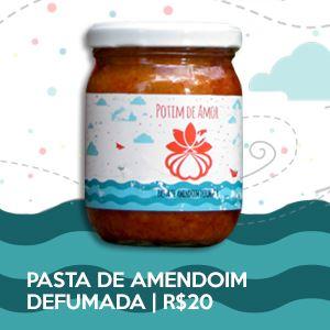 Potim de Amor #1 - Pasta de Amendoim Defumada
