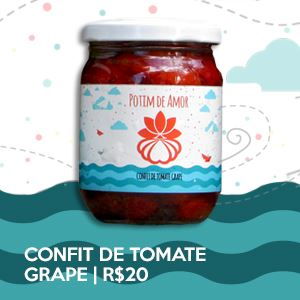 Potim de Amor #2 - Confit de Tomate Grape