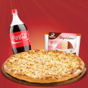 Super Combo (Pizza + Refri + Sorvete)