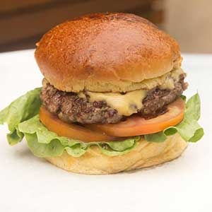 Cheese Salada Burger