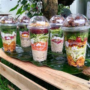 KIT Semanal 5 Saladas ou Refeições