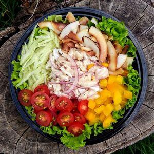 Salada de Ceviche