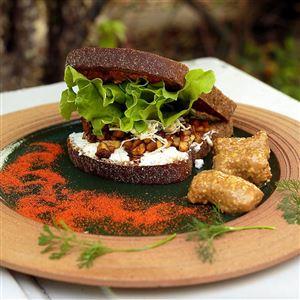 Sanduíche de Amendoim Defumado