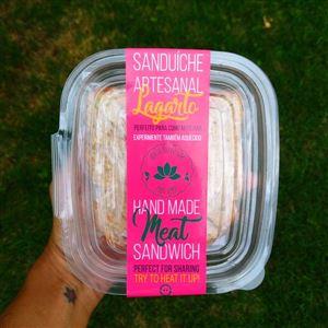 Sanduíche de Lagarto com Abacate